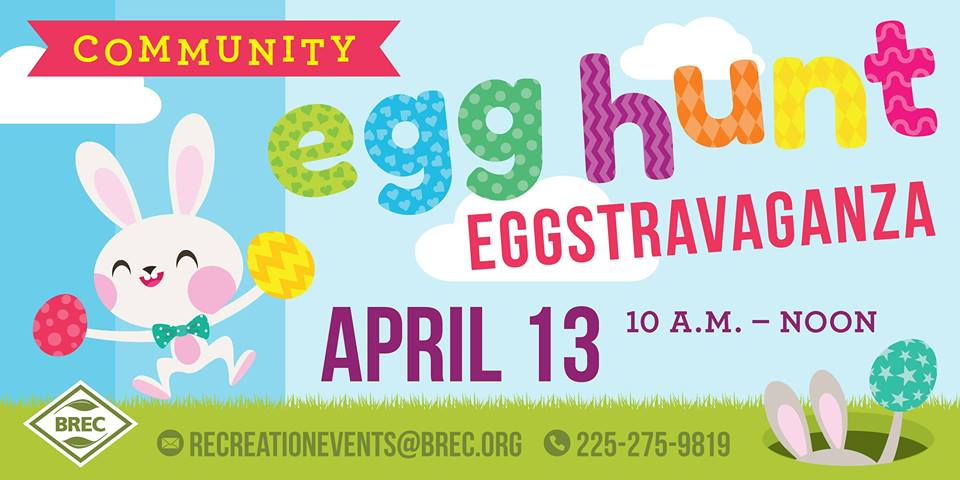 BREC Baton Rouge Easter Egg Hunt