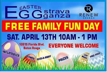 Baton Rouge Easter Egg Hunt