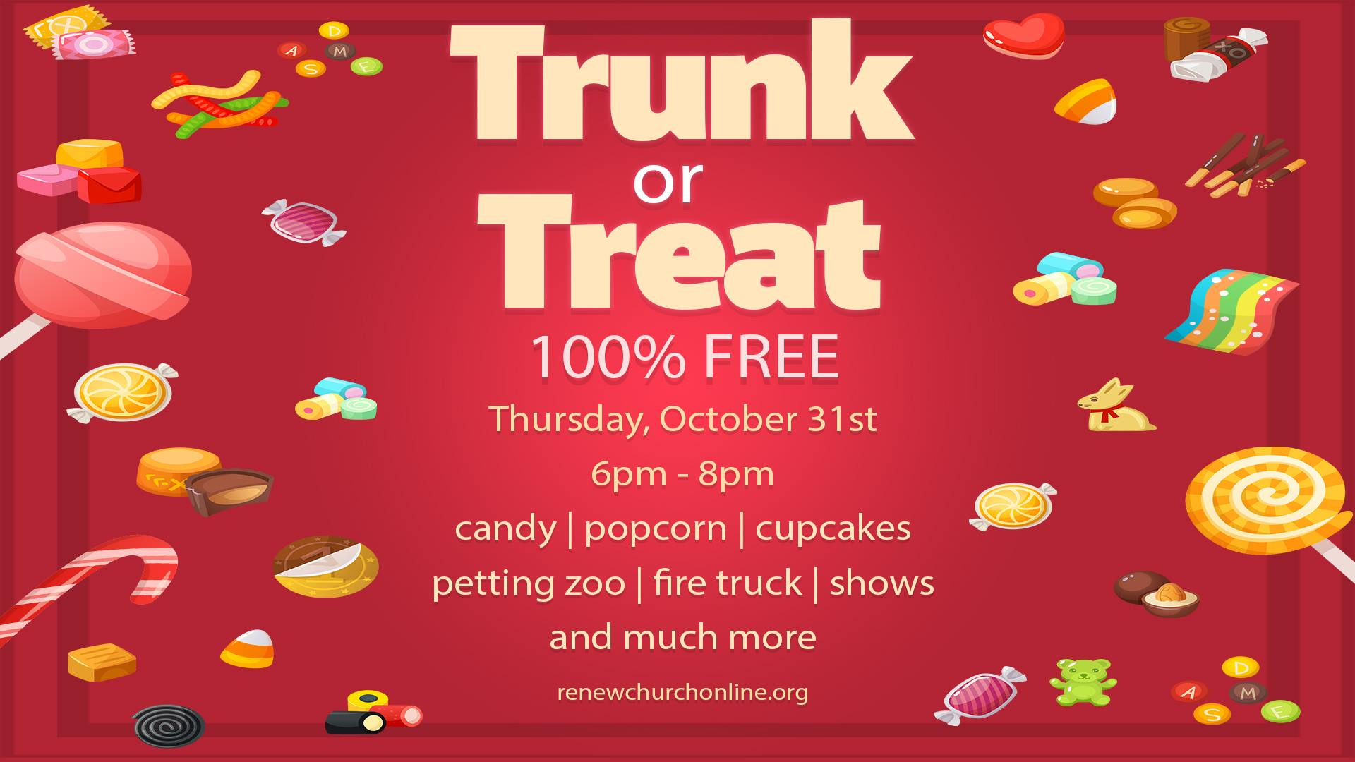 Trunk-or-Treat Baton Rouge