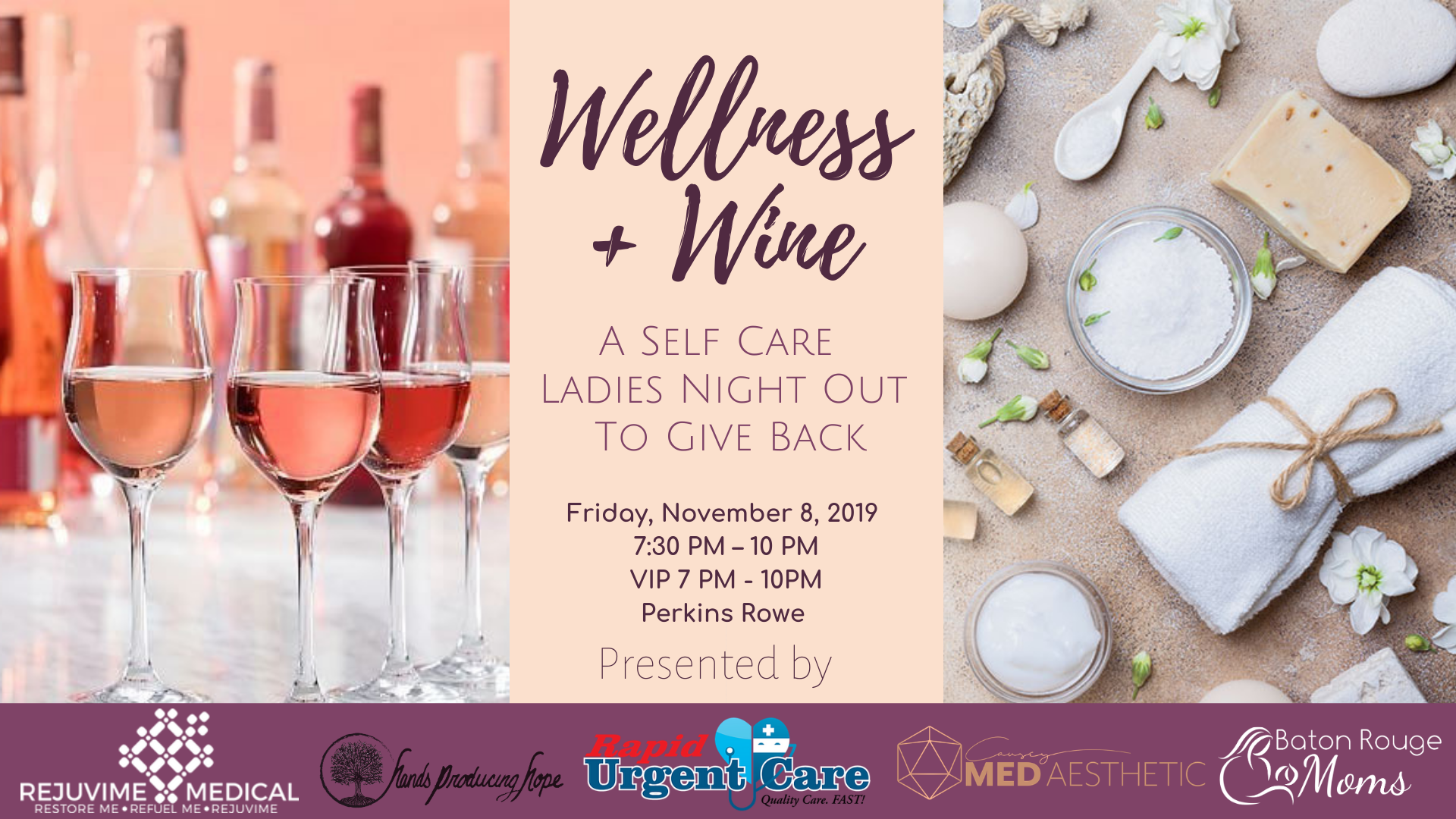 Wellness + Wine