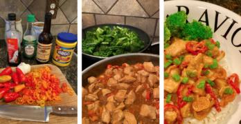 Easy Sweet Pepper Chicken Recipe