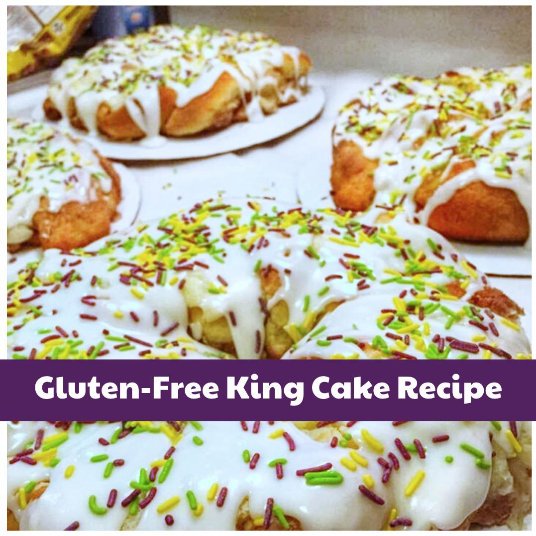 Gluten-Free King Cake